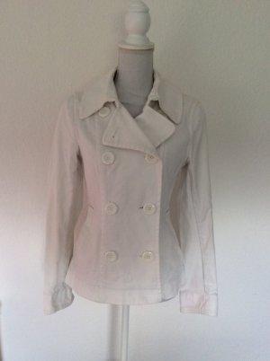 H&M Vareuse blanc-blanc cassé coton