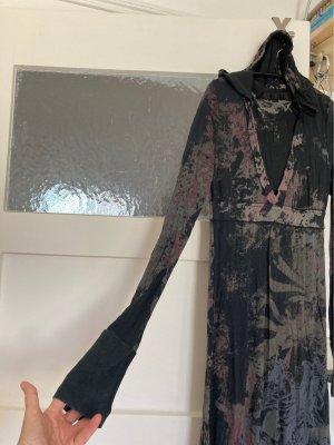 Bluemarine Sukienka z długim rękawem Wielokolorowy Bawełna