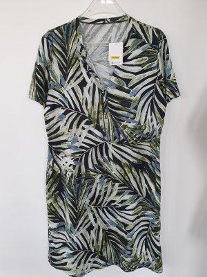 Calida Shirt Dress black-forest green