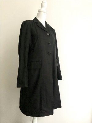 Jil Sander Frock Coat black