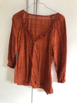 Baumwoll Oberteil von EDC in orange/bronze Ton