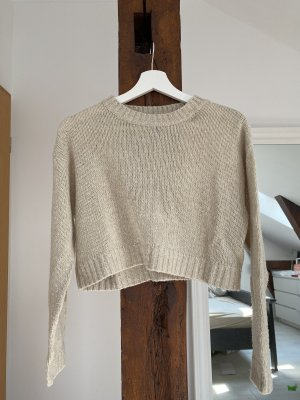 H&M Divided Wool Sweater beige-oatmeal