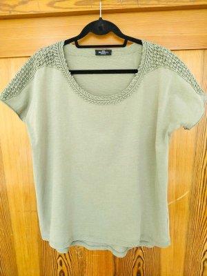 Baumwoll Shirt, oversize Look, gehäkelt, T-shirt