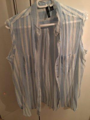 Baumwoll Sommer Bluse von Mango