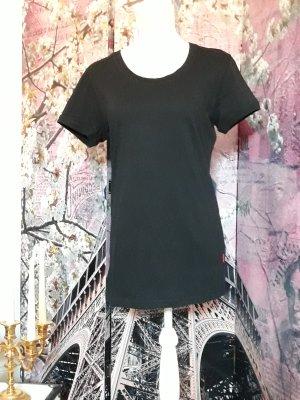 Baumwoll T-Shirt schwarz neu