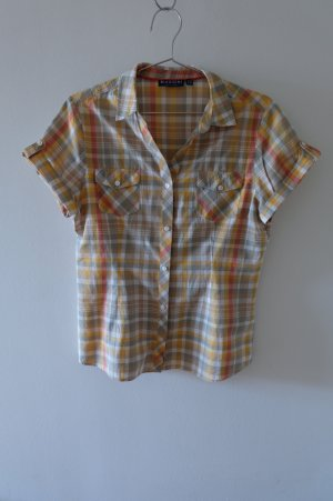 Biaggini Short Sleeved Blouse multicolored cotton