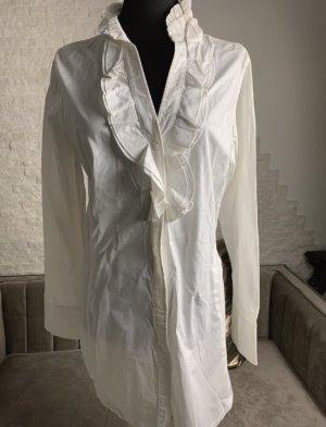 more Cols de blouses blanc