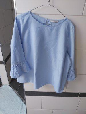 Tom Tailor Denim Slip-over blouse azuur