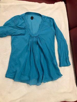 Nolita Blusa de manga larga azul