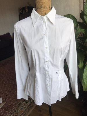 Colletto camicia bianco