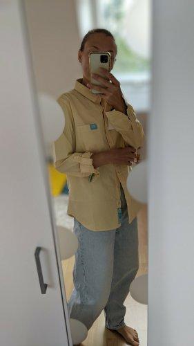 Colins Camicia blusa bianco-giallo pallido