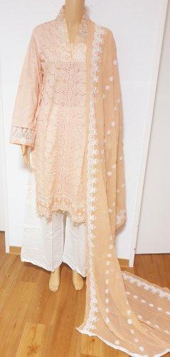 1 brand Robe d'été blanc-vieux rose