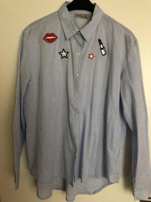 Baumwolle Hemd mit Pieces