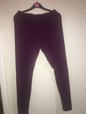 Esmara Woolen Trousers blackberry-red-brown violet