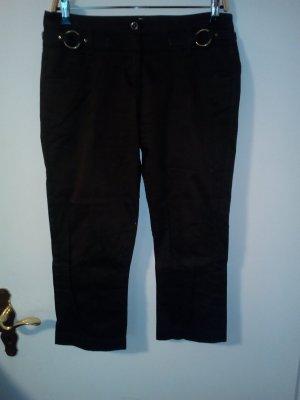 Orsay Pantalon en laine brun foncé