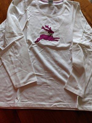 Hammerschmid T-Shirt white-lilac