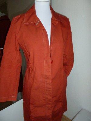Gap Heavy Pea Coat dark orange cotton