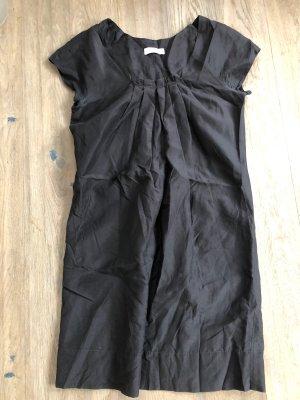 Baumwolle/Seidenkleid Turnvover 34