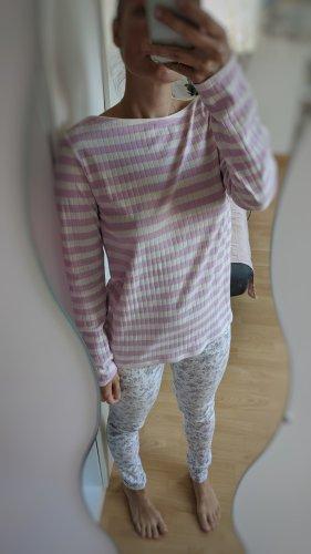 Baumwolle Shirt/Oberteil/pulli mit Streifenmuster massimo dutti gr M/L