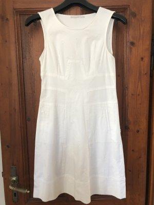 Didier Parakian Sheath Dress white cotton