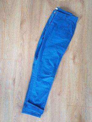 0039 Italy Chinos blue cotton