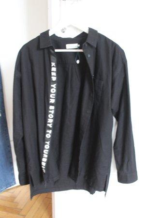 Twintip Camicia blusa nero Cotone