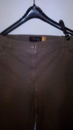 Gaby Mersmann design Pantalón de tubo marrón
