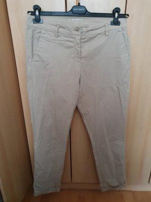 Cambio Jersey Pants beige