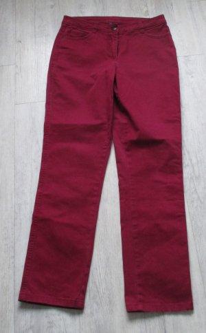 Cecil Pantalon cinq poches violet