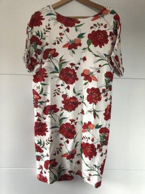 Baumwollkleid mit Blumenprint - Sommerkleid