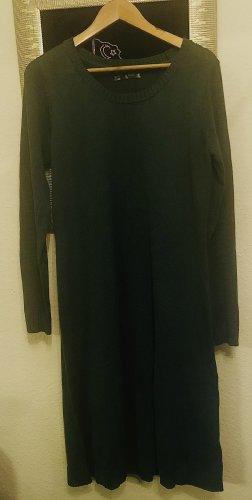 Bon Prix Wollen jurk khaki-cadet blauw