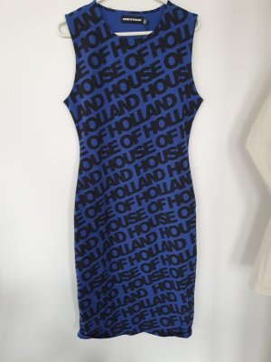 House of Holland Tube Dress blue