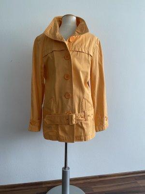 3 Suisses Krótki płaszcz jasny pomarańczowy