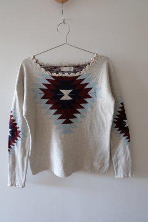 Odd Molly Maglione lavorato a maglia multicolore Cotone