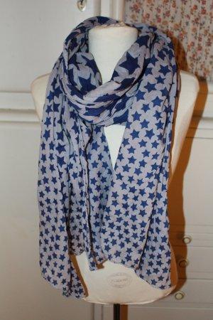 Becksöndergaard Foulard bleu foncé-bleu pâle coton