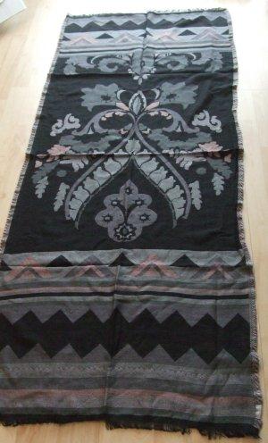Fraas Bufanda de lana negro