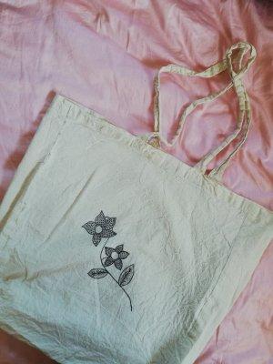 Baumwolltasche Bemalt Blumen