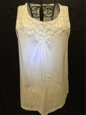 edc by Esprit Crochet Shirt white