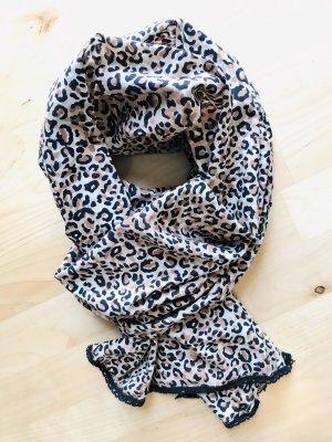 Baumwolltuch/-Schal im Animal-Print