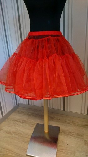 Underskirt red mixture fibre