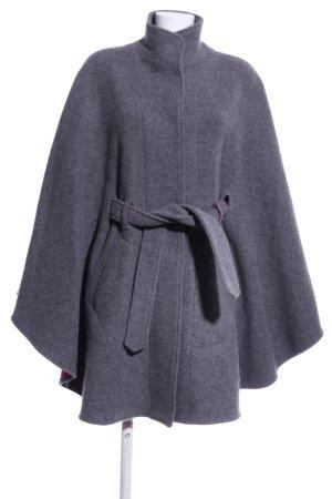 Bavaria Loden Poncho grigio chiaro puntinato stile professionale