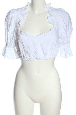 Bavarian clothes Blusa folclórica blanco estilo clásico
