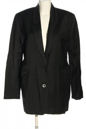 Bazilika Long-Blazer schwarz Business-Look