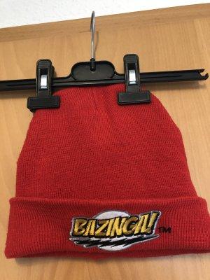 Bazinga Mütze Rot Big Bang Theory