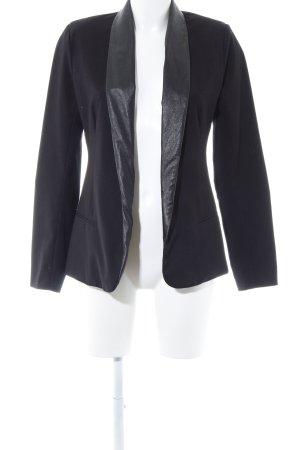 Bb Dakota Blazer en jersey noir style extravagant