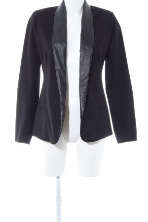 Bb Dakota Jerseyblazer schwarz extravaganter Stil