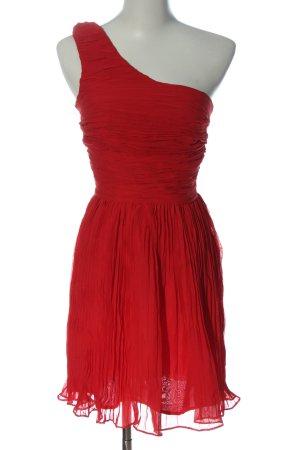 Bb Dakota One Shoulder Dress red elegant