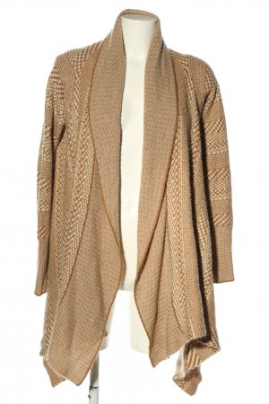 Bb Dakota Knitted Cardigan white-green abstract pattern casual look