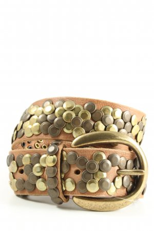 bb Studded Belt brown casual look