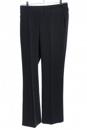 BC Suit Trouser black striped pattern business style